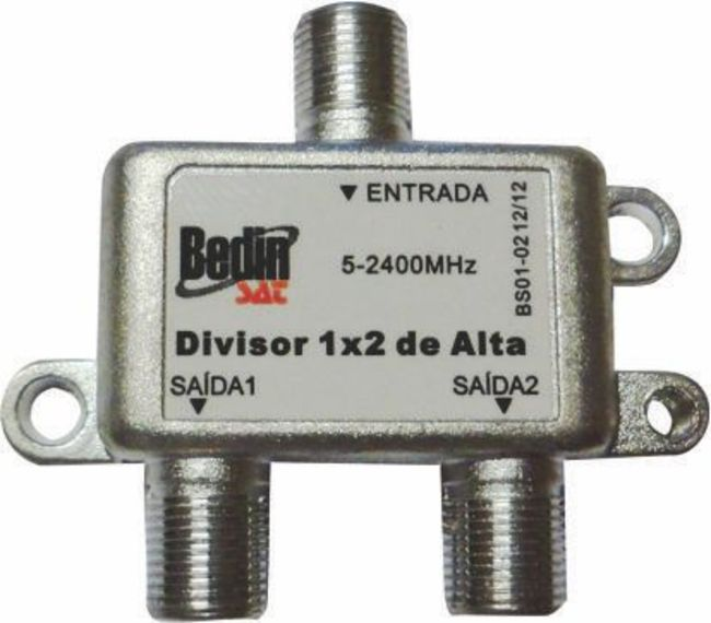 DIVISOR 5~2400MHz 1x2 - ALTA E BAIXA