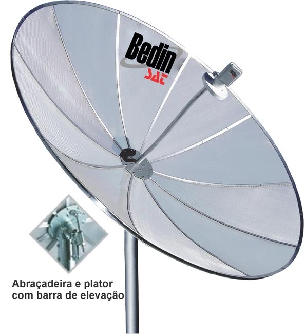 ANTENA PARABOLICA BEDINSAT 2,40 M