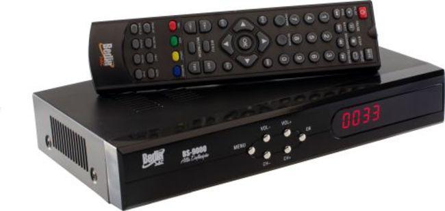 KIT CONVERSOR E RECEPTOR /HD SATÉLITE + ANTENA DIGITAL HDTV 6000