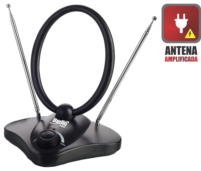 ANTENA DIGITAL INTERNA HDTV 7000 (AMPLIFICADA)