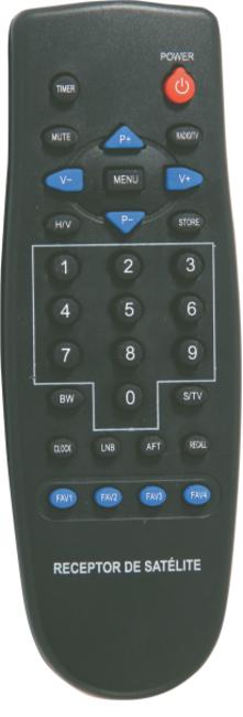 CONTROLE REMOTO BEDINSAT BS 3000/3100