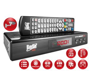 RECEPTOR DECODIFICADOR ANALÓGICO DIGITAL HD SATÉLITE + HD TERRESTRE BS 9500